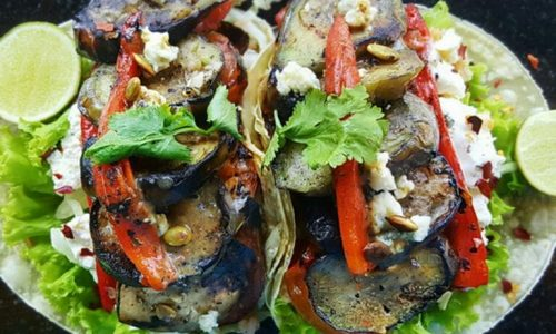 Grilled-Eggplant-Charred-Tomatoes-Blue-Cheese-Tacos-768x576